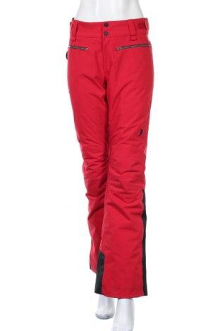 Дамски панталон за зимни спортове Peak Performance, Размер M, Цвят Червен, Полиамид, Цена 145,78лв.