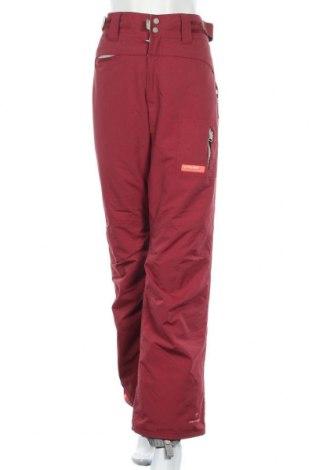 Дамски панталон за зимни спортове Protest, Размер L, Цвят Червен, Полиамид, Цена 41,90лв.