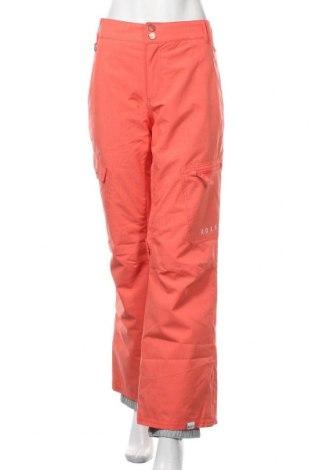 Дамски панталон за зимни спортове Roxy, Размер M, Цвят Оранжев, Полиестер, Цена 63,84лв.