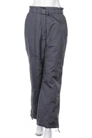 Дамски панталон за зимни спортове TCM, Размер S, Цвят Сив, Полиамид, Цена 11,55лв.