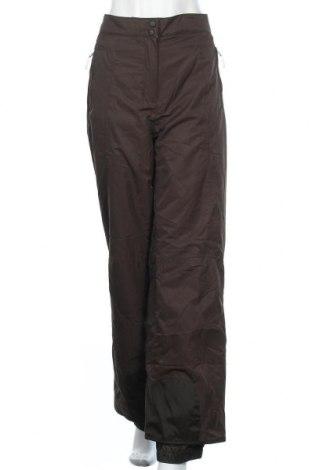 Дамски панталон за зимни спортове Wedze, Размер XL, Цвят Кафяв, Полиамид, Цена 45,22лв.