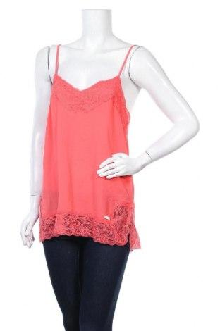 Γυναικείο αμάνικο μπλουζάκι CAFèNOIR, Μέγεθος M, Χρώμα Ρόζ , Βαμβάκι, Τιμή 5,44€