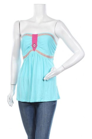 Γυναικείο αμάνικο μπλουζάκι Be You, Μέγεθος XL, Χρώμα Μπλέ, 100% βισκόζη, Τιμή 5,78€