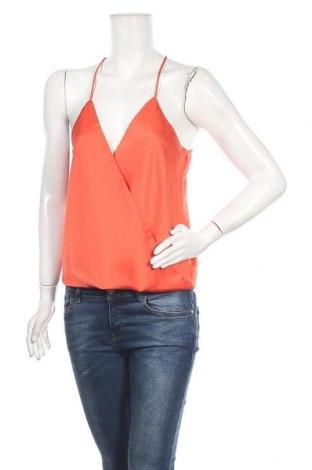 Γυναικείο αμάνικο μπλουζάκι Bik Bok, Μέγεθος M, Χρώμα Πορτοκαλί, Πολυεστέρας, Τιμή 5,32€