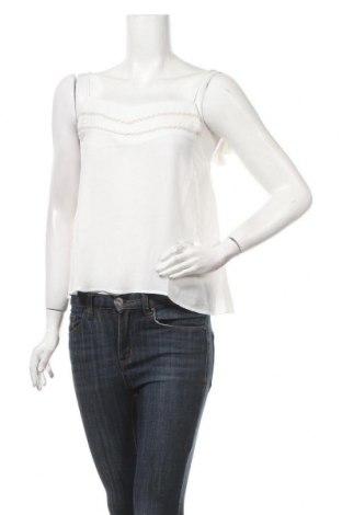 Γυναικείο αμάνικο μπλουζάκι Chattawak, Μέγεθος M, Χρώμα Λευκό, 96% πολυεστέρας, 4% ελαστάνη, Τιμή 6,27€