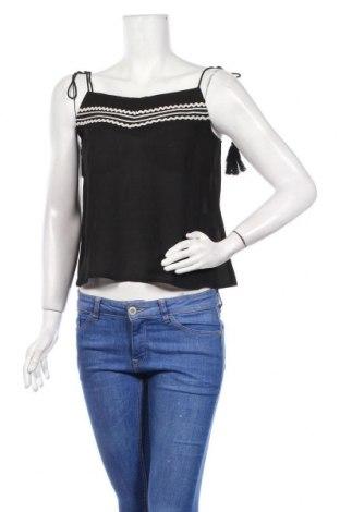 Γυναικείο αμάνικο μπλουζάκι Chattawak, Μέγεθος M, Χρώμα Μαύρο, 96% πολυεστέρας, 4% ελαστάνη, Τιμή 6,27€