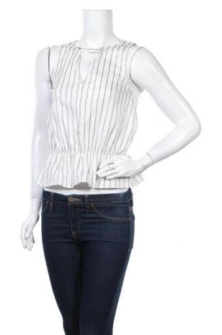 Дамски потник Patrizia Pepe, Размер S, Цвят Бял, 84% памук, 13% полиамид, 3% еластан, Цена 40,05лв.