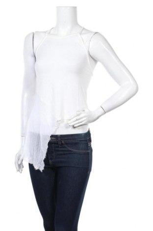 Дамски потник Patrizia Pepe, Размер S, Цвят Бял, 90% вискоза, 10% коприна, Цена 40,05лв.
