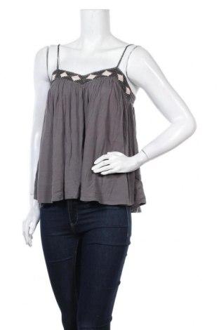 Γυναικείο αμάνικο μπλουζάκι Review, Μέγεθος S, Χρώμα Γκρί, 100% βισκόζη, Τιμή 6,96€