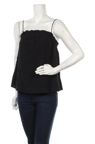Tricou de damă Review, Mărime M, Culoare Negru, Viscoză, Preț 10,81 Lei