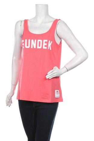 Γυναικείο αμάνικο μπλουζάκι Sundek, Μέγεθος XL, Χρώμα Ρόζ , Βαμβάκι, Τιμή 7,54€