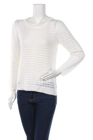 Γυναικείο πουλόβερ, Μέγεθος S, Χρώμα Λευκό, Ακρυλικό, Τιμή 4,05€