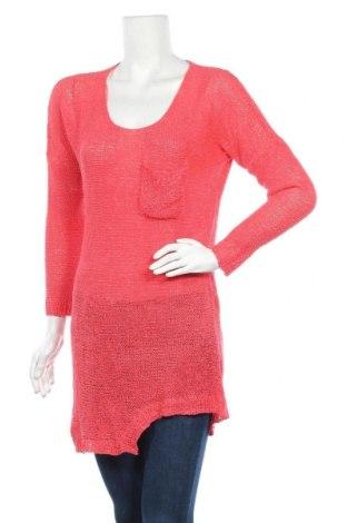Дамски пуловер, Размер M, Цвят Розов, Акрил, Цена 23,10лв.