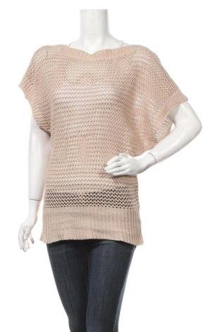 Дамски пуловер, Размер M, Цвят Бежов, Цена 5,25лв.