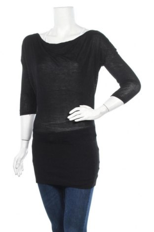 Дамски пуловер, Размер S, Цвят Черен, Вискоза, Цена 4,60лв.