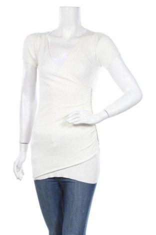 Дамски пуловер, Размер M, Цвят Екрю, 65% памук, 35% полиамид, Цена 6,76лв.
