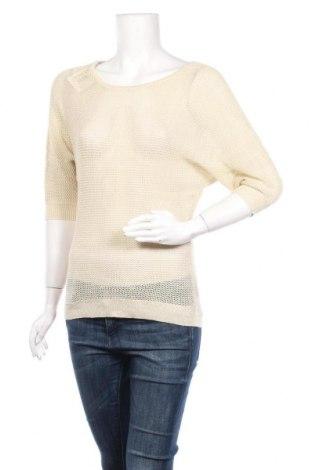 Дамски пуловер, Размер M, Цвят Бежов, Цена 4,41лв.