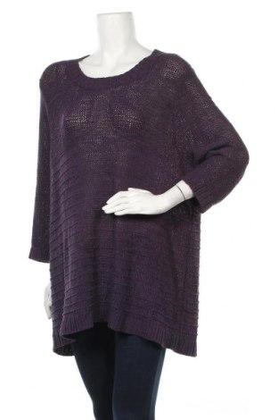 Дамски пуловер Beme, Размер L, Цвят Лилав, Акрил, полиамид, Цена 23,63лв.