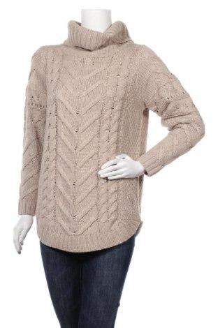 Дамски пуловер Blue Motion, Размер M, Цвят Бежов, Акрил, Цена 19,85лв.
