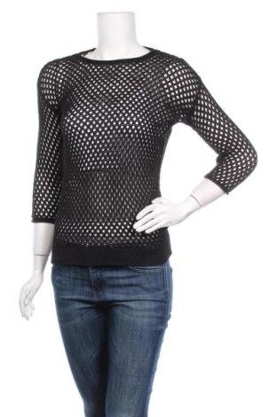 Дамски пуловер Blue Motion, Размер S, Цвят Черен, 60% памук, 40% вискоза, Цена 21,95лв.
