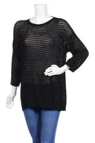 Дамски пуловер Blue Motion, Размер XL, Цвят Черен, 60% памук, 40% вискоза, Цена 22,94лв.