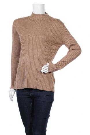 Дамски пуловер Blue Motion, Размер M, Цвят Кафяв, 70% вискоза, 30% полиамид, Цена 27,93лв.