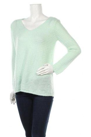 Дамски пуловер H&M, Размер S, Цвят Зелен, Цена 10,40лв.