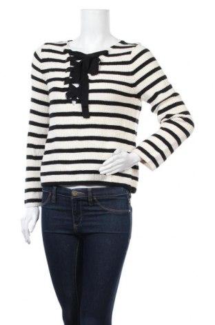 Дамски пуловер Loft By Ann Taylor, Размер M, Цвят Черен, 60% памук, 40% вискоза, Цена 10,96лв.