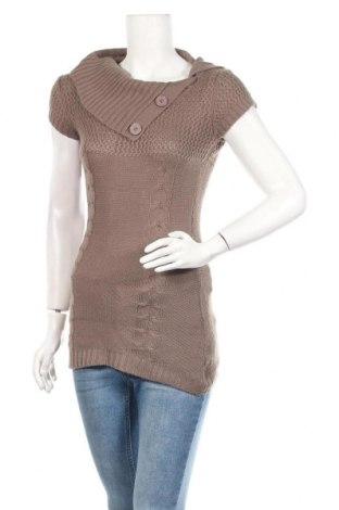 Дамски пуловер Madonna, Размер XS, Цвят Кафяв, Акрил, Цена 4,83лв.