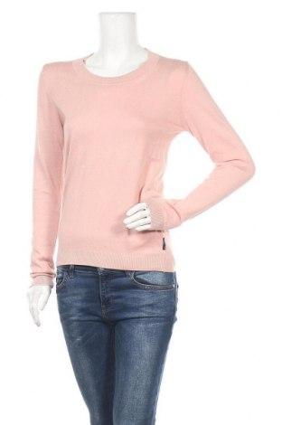 Дамски пуловер North Sails, Размер S, Цвят Розов, 95% памук, 5% кашмир, Цена 82,53лв.