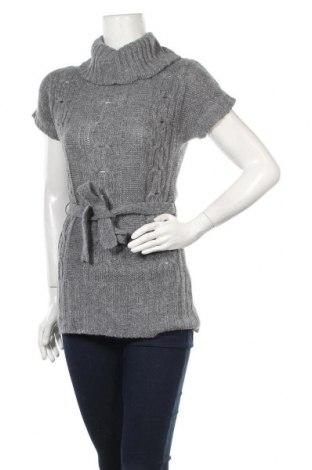 Дамски пуловер ONLY, Размер S, Цвят Сив, Цена 7,49лв.