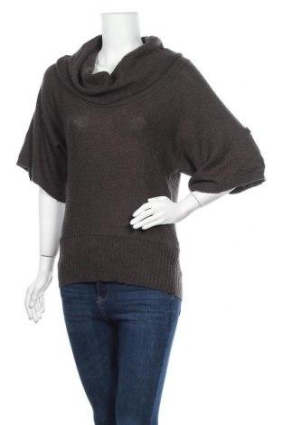 Γυναικείο πουλόβερ Pimkie, Μέγεθος S, Χρώμα Καφέ, 40% πολυακρυλικό, 35% πολυαμίδη, 15% βισκόζη, 5% βαμβάκι, Τιμή 3,74€