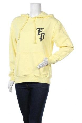 Дамски суичър, Размер M, Цвят Жълт, Цена 22,18лв.