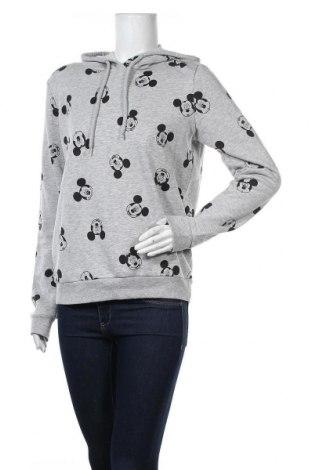 Дамски суичър Disney, Размер M, Цвят Сив, 60% памук, 40% полиестер, Цена 24,15лв.