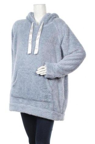 Дамски суичър H&M, Размер XL, Цвят Син, Полиестер, Цена 24,15лв.