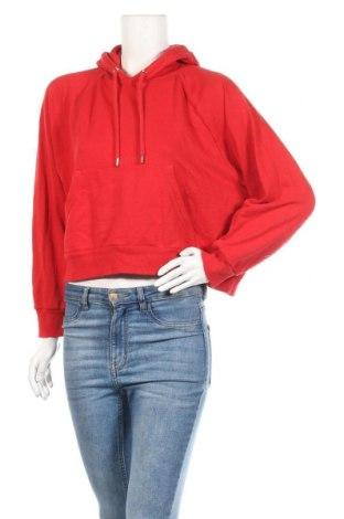 Дамски суичър Monki, Размер S, Цвят Червен, 59% памук, 41% полиестер, Цена 17,33лв.