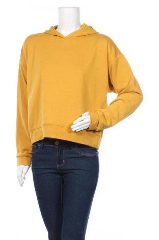 Дамски суичър Pieces, Размер M, Цвят Жълт, 70% полиестер, 30% памук, Цена 20,33лв.