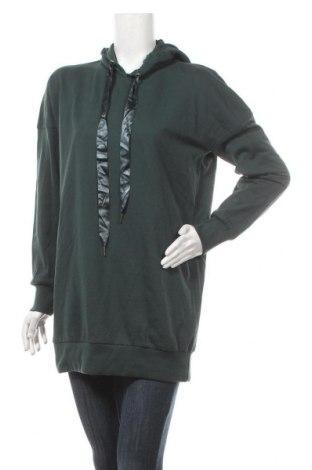 Дамски суичър Vero Moda, Размер M, Цвят Зелен, 55% памук, 45% полиестер, Цена 24,02лв.