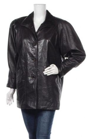 Дамско кожено сако Seiden Leder, Размер L, Цвят Лилав, Естествена кожа, Цена 55,76лв.