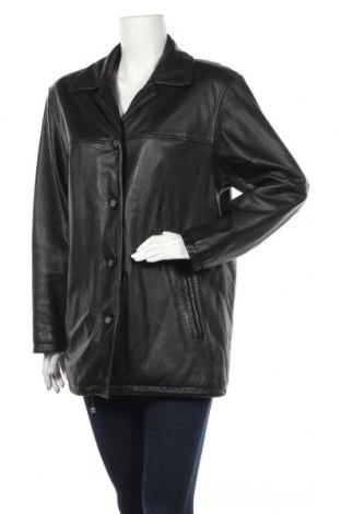Дамско кожено яке Michele Boyard, Размер L, Цвят Черен, Естествена кожа, Цена 85,05лв.
