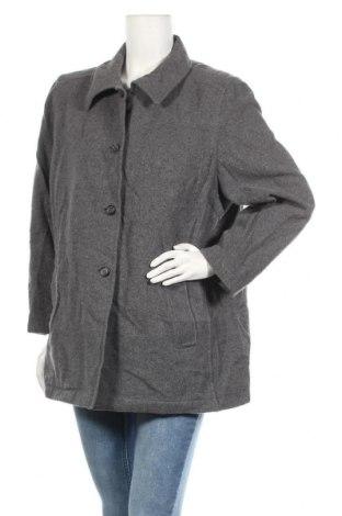 Дамско палто Barisal, Размер XL, Цвят Сив, 65% вълна, 25% полиамид, 10% кашмир, Цена 12,60лв.