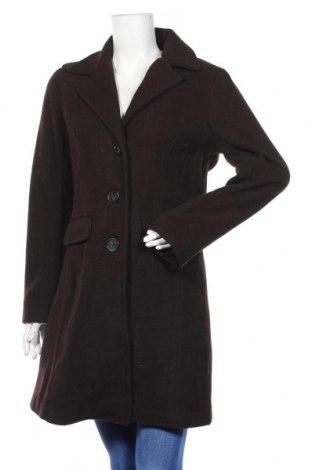 Дамско палто Blue Motion, Размер M, Цвят Кафяв, 55% вълна, 45% полиестер, Цена 63,84лв.