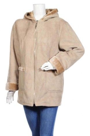 Дамско палто Michele Boyard, Размер M, Цвят Екрю, Полиестер, Цена 58,01лв.