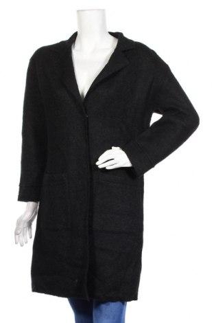Дамско палто Target, Размер M, Цвят Черен, Вълна, полиестер, Цена 57,29лв.