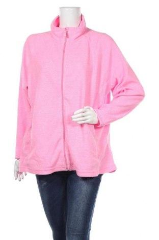 Дамско поларено горнище Janina, Размер XXL, Цвят Розов, Полиестер, Цена 21,95лв.