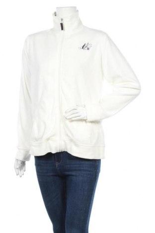 Дамско поларено горнище Top Tex, Размер L, Цвят Бял, Полиестер, Цена 21,95лв.