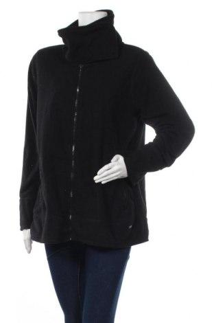 Дамско поларено горнище Yessica, Размер XL, Цвят Черен, Полиестер, Цена 16,96лв.