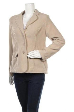 Дамско сако, Размер M, Цвят Бежов, Полиестер, Цена 5,67лв.