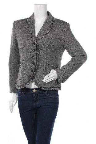 Дамско сако Authentic Clothing Company, Размер M, Цвят Сив, 60% вълна, 36% полиестер, 4% еластан, Цена 23,63лв.