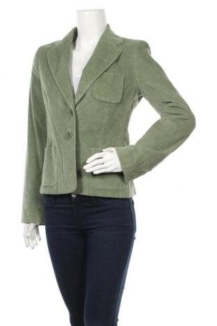 Γυναικείο σακάκι Club Monaco, Μέγεθος M, Χρώμα Πράσινο, 99% βαμβάκι, 1% ελαστάνη, Τιμή 10,89€